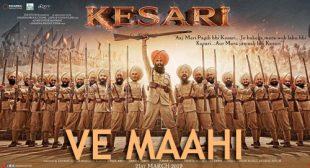 Arijit Singh's New Song Ve Maahi