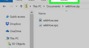 How to Extract a .Zip File Without WinZip