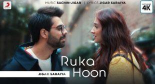 Ruka Hoon – Jigar Saraiya Lyrics