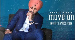 Move On Lyrics – Sartaj Virk  ~ Mohit Lyrics | Latest Song Lyrics