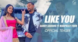 Like U (Tere Jaisi) Lyrics – Garry Sandhu