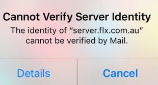 """How to Fix """"Cannot Verify Server Identity"""" Error on iPhone"""