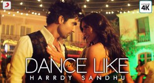 Harrdy Sandhu's New Song Dance Like