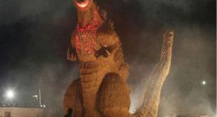 Godzilla is Afraid of One Thing: Basketball