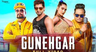 Gunehgar – Raju Punjabi Lyrics