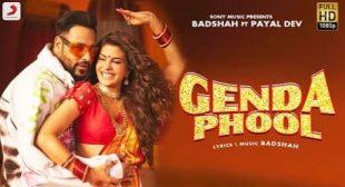 Genda Phool Lyrics in Hindi and English – Badshah