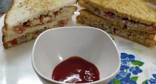 5 min Healthy Dahi Sandwich Recipe