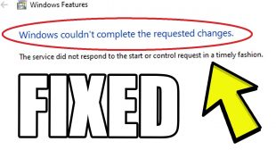 How to Fix Windows Couldn't Complete the Requested Changes