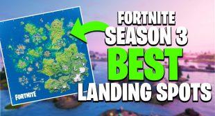 Fortnite Chapter 2 Season 3: Best Landing Spots