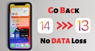 How to Downgrade iOS 14 back to iOS 13 on iPhone?