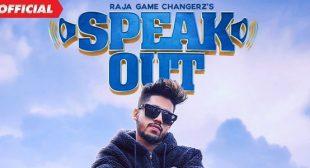 Speak Out – Raja Game Changerz