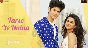 Tarse Ye Naina Lyrics – Anand Bajpai | Avneet Kaur & Rohan Mehra