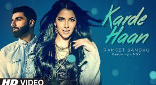 Karde Haan Lyrics – LyricsBELL