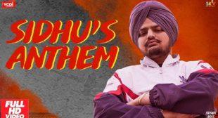 Sidhu's Anthem Lyrics – LyricsBELL