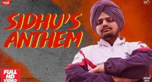 Sidhu's Anthem Lyrics