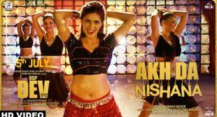Akh Da Nishana Lyrics ft Sapna Choudhary