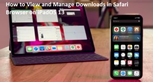 How to View and Manage Downloads in Safari Browser on iPadOS 13 – mcafee.com/activate