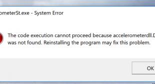 How to Fix 'accelerometerdll.DLL was found' Error – office.com/setup