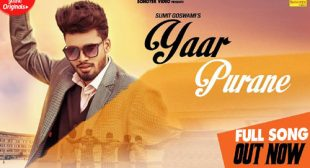 Sumit Goswami – Yaar Purane Lyrics