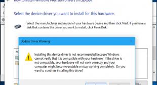 How to Install Windows Precision Drivers on Laptop? – norton.com/setup