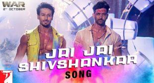 Lyrics of Jai Jai Shivshankar Song