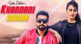 Khandani Munda Lyrics – Geeta Zaildar