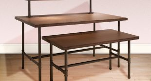 Pipeline Wood Nesting Tables Set at Cheap Prices