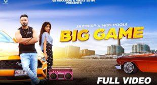 Miss Pooja – Big Game Lyrics