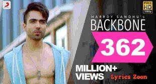 Backbone Lyrics~ LyricsZoon | Best Hindi Lyrics Collection