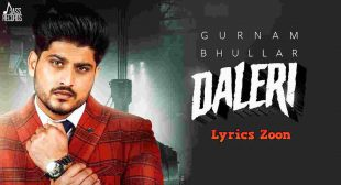 DALERI LYRICS ~ LyricsZoon | Best Hindi Lyrics Collection
