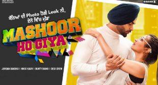 Mashoor Ho Giya – Jordan Sandhu Lyrics