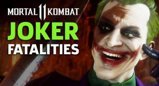 How to Perform Joker fatalities in Mortal Kombat11