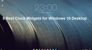 5 Best Clock Widgets for Windows 10 Desktop – World Directory