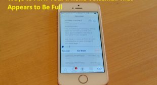 Ways to Fix If Your iPhone Voicemail That Appears to Be Full – Wow Directory