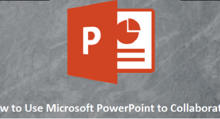 How to Use Microsoft PowerPoint to Collaborate – Yeellp