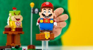 Super Mario: Build Your Very Own Mario With Lego