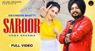 Lyrics of Saroor Song