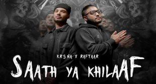 Saath Ya Khilaaf Lyrics – Kr$na
