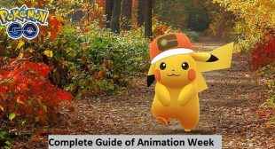 Pokemon Go: Complete Guide of Animation Week – Find The List