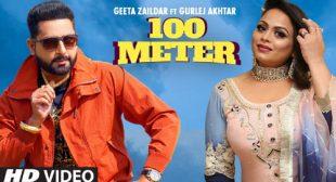 100 Meter Lyrics – Geeta Zaildar