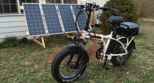 Possessional Best Quality Solar Power for Your Bike