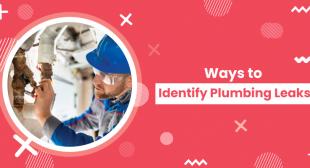 Ways to Identify Plumbing Leaks