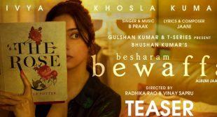 Besharam Bewaffa Lyrics – B Praak